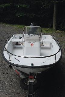 1997 13 Ft Boston Whaler Dauntless 50hp For Sale In