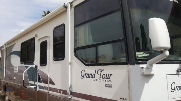 Grand Vectra Pics Motorhome Tour 1999