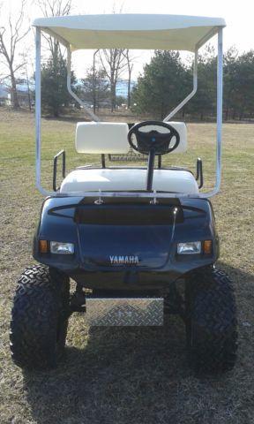 Yamaha G16 Custom Gas Golf Cart For Sale In Ashland