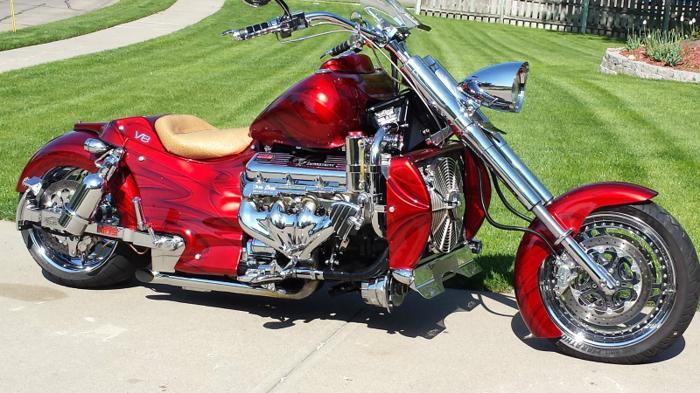 Long Chopper Motorcycles