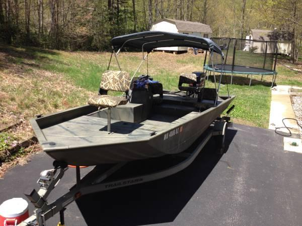 2008 Tracker Grizzly 2072 SCDB Jon Boat For Sale In