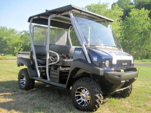 2011 Kawasaki MULE 4010 TRANS 4X4 S.E. For Sale In