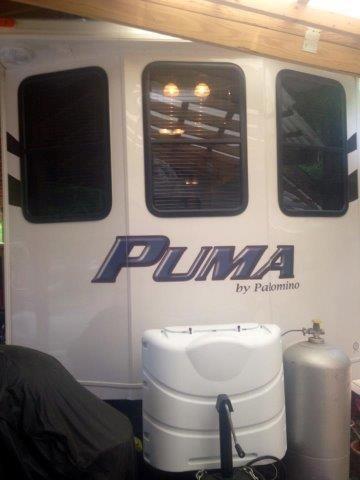 2013 Puma 32 Foot Park Model Camper For Sale In Ashland