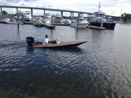 Fast Fun Speed Boat Head Turner 13ft Critchfield For Sale