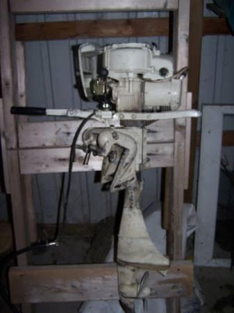 5hp Clinton Outboard Motor 68 For Sale In Sebewaing Michigan Classified