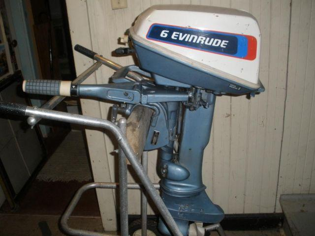 6 Hp Evinrude Outboard Motor For Sale In Seattle Washington Classified