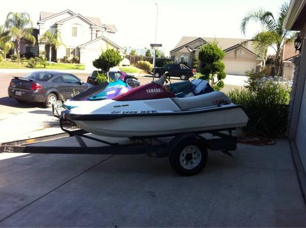 1996 Yamaha Waverunner Boat In
