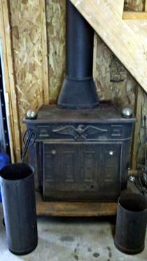 Ben Franklin Replica Wood Burning Stove