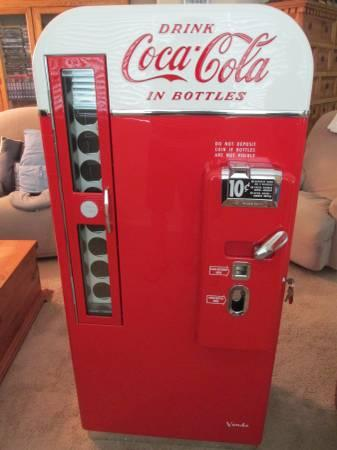 COCA COLA VENDO 81 MACHINE RESTORED For Sale In Higley