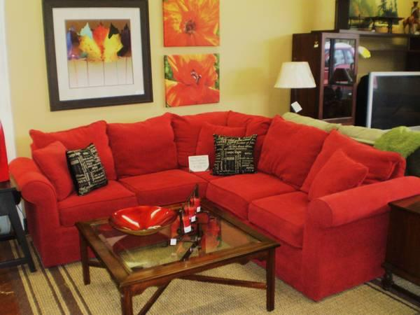 Red Sectional Sleeper Sofa