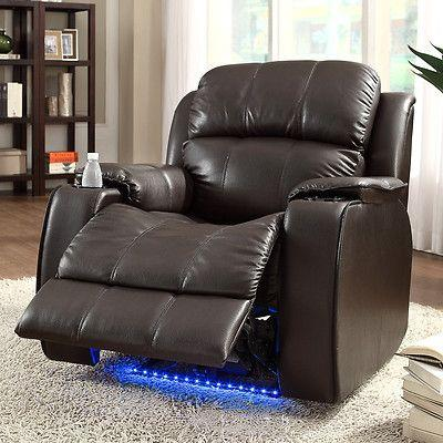HOT DEAL POWER RECLINER WITH MASSAGE AND COLD CUP HOLDER