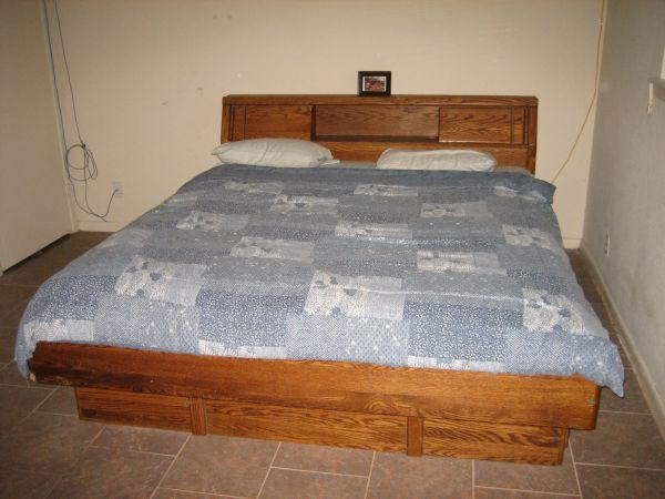 King Size Converted Waterbed SW Houston Stafford For