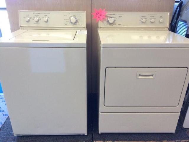 Kitchenaid Superba Washer Dryer Set Pair