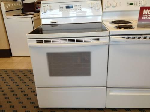 KitchenAid White Electric Range Stove Oven USED For Sale