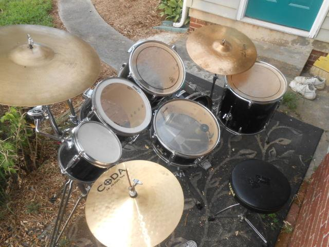 Nice Drum Set for Sale Ready to Play for Sale in Hickory  North     Nice Drum Set for Sale Ready to Play