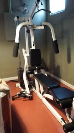 Parabody 400 Severe Metal Home Exercise Space For Sale