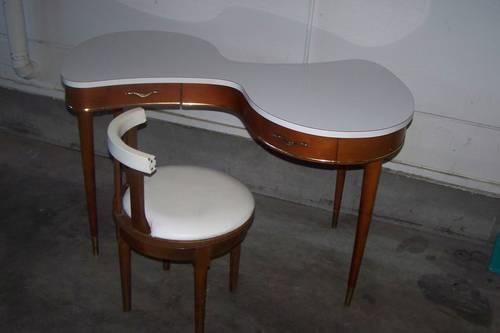 Rare Teakwood Danish Doctors Optical Dispensing Table W2