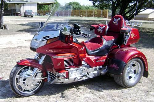 Red GL1500 Honda Goldwing Interstate Trike For Sale In