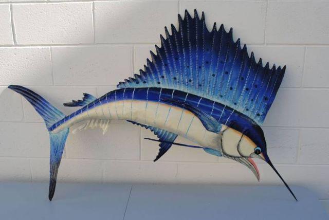 Saltwater Fish Metal Art ,suns,3-D Galapogos,pelicans