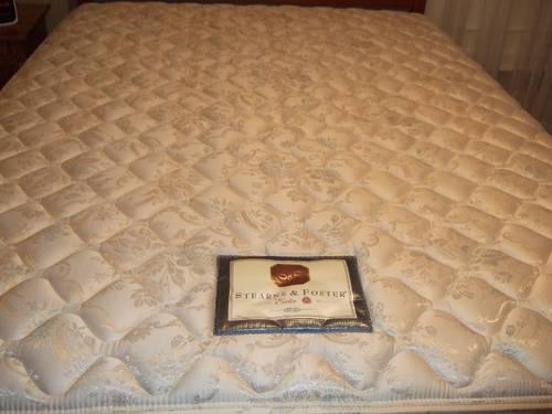 Used Stearns And Foster Queen Mattress Box Spring