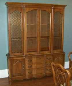 Vintage Basset Dining Room Furniture Large Dining Table