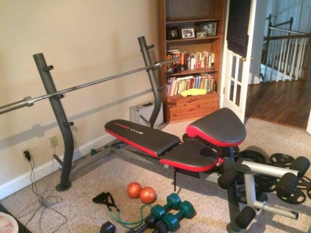 Weider Club Olympic Bench Press For Sale In Snell