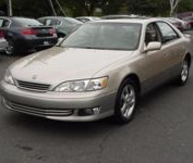 2001 Lexus Es 300 Options Included Driver Air Bag