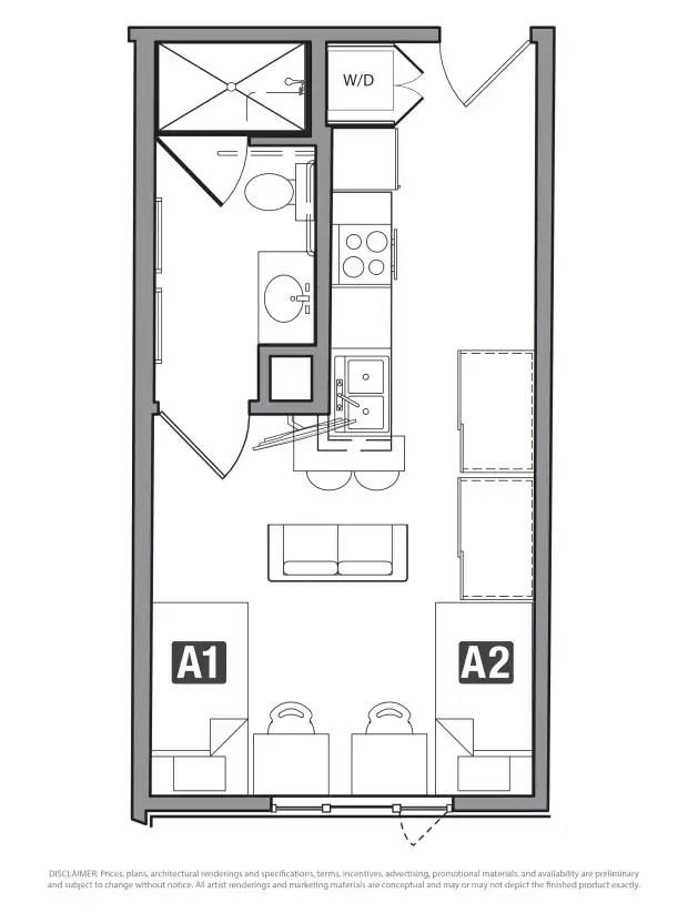 Studio Icon Apartments