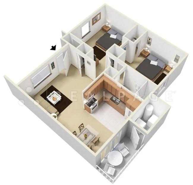 The Villa Hilburn Apartments