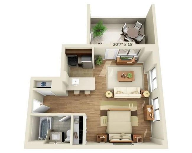 Studio E1g R Floor Plan 21 Chelsea