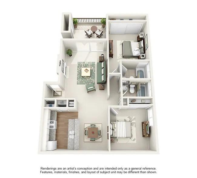 Floorplan Casa Monterrey