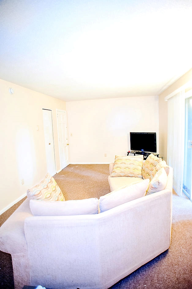 Living Room Woodlea Apartments