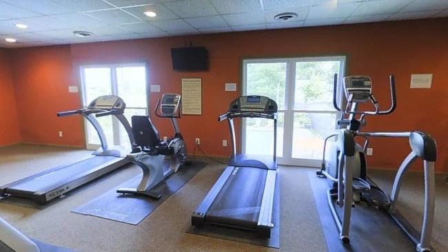 Fitness Center Belmont Run Apartments Near Uk