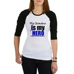 Colon Cancer Hero Jr. Raglan