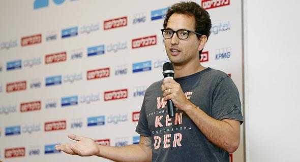 Colu co-founder Amos Meiri. Photo: Amit Sha'al
