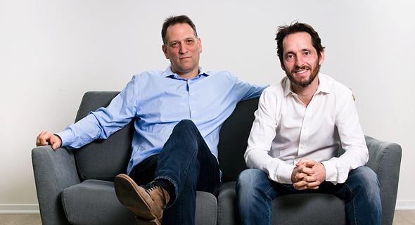 Namogoo co-founders Ohan Greenshpan and Chemi Katz. Photo: Efrat Saar