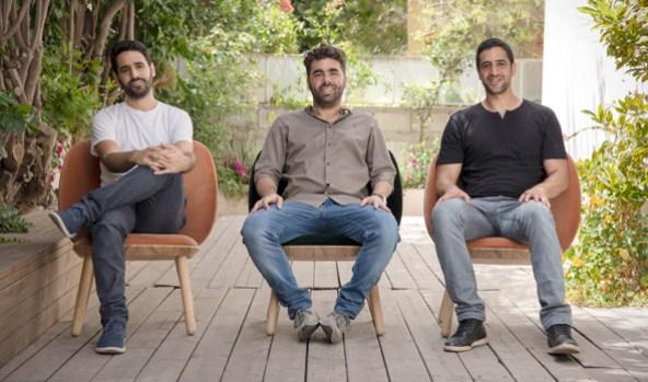 出所:Calcalist(Artlistの共同創業者Ira Belsky 氏(左)、 Itzik Elbaz氏(中)、Eyal Raz氏(右))