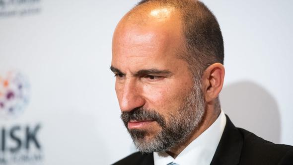 """CEO""""To Uber, Dara Kosrashahi"""