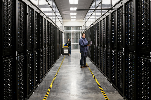 Apple's servers run on renewable energy