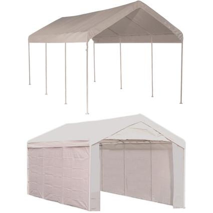10X20 Max AP 2 In 1 Canopy Shelterlogic 23529 Instant Garages Camping World