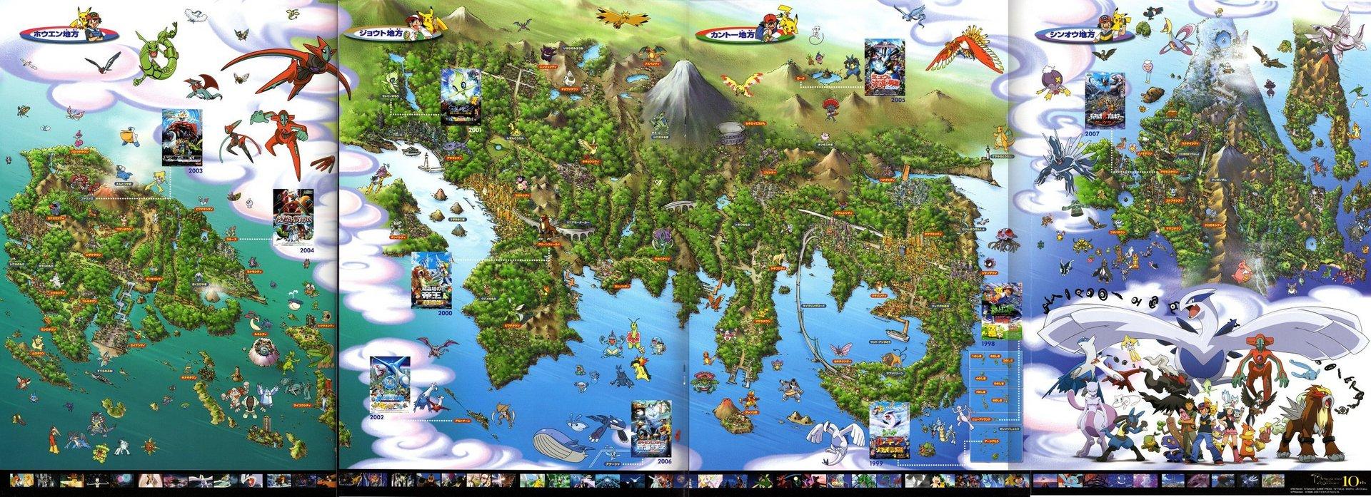 World Map Pokemon Photo 942767 Fanpop Page 7
