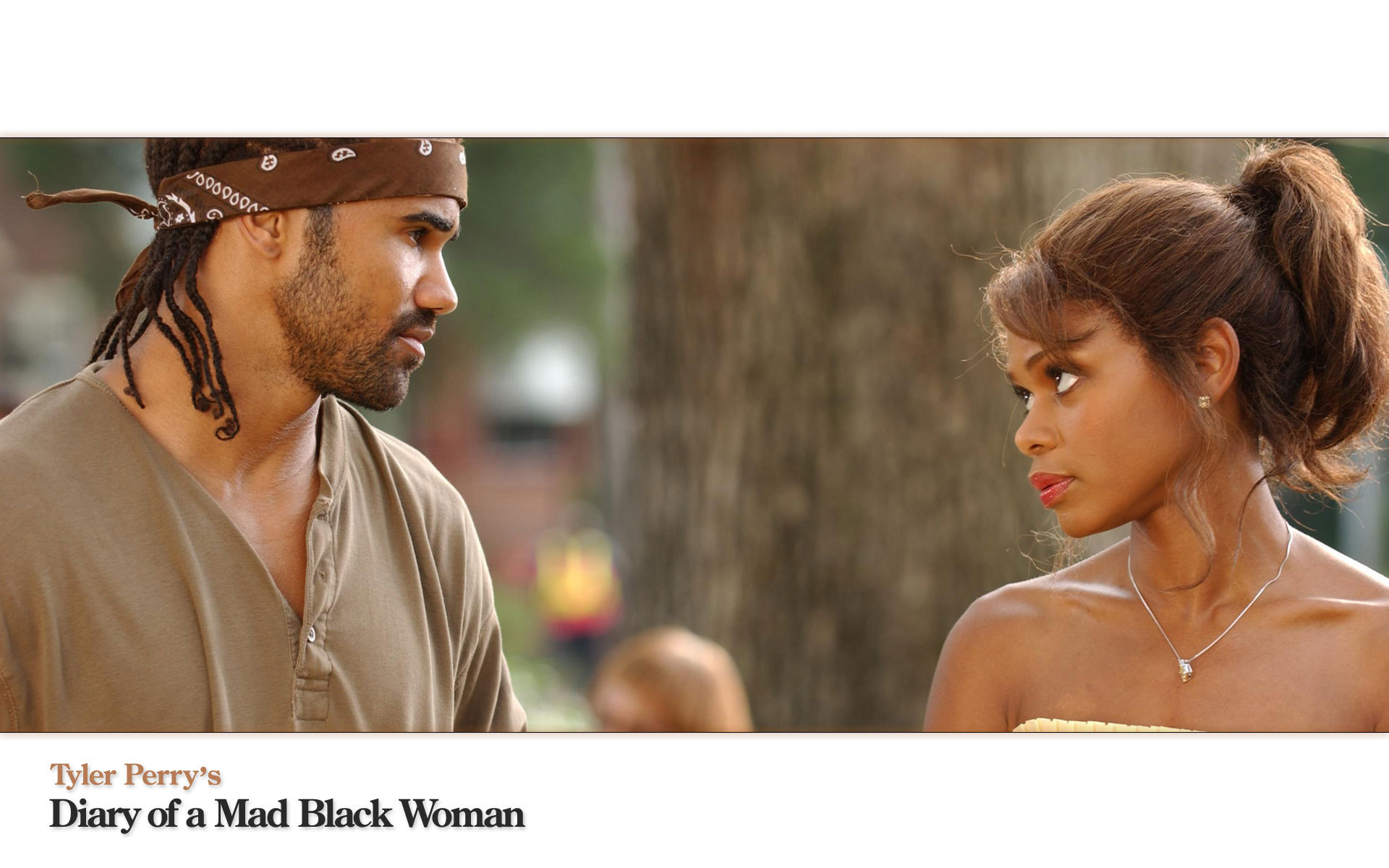 Shemar Moore Images Shemar Moore With Kimberly Elise HD
