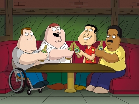 Image result for peter and the guys at the clam