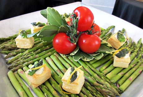 Asparagus and Goat Cheese Tartlets Favorite Blogger of the Week: Michelle Levine