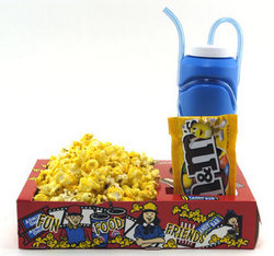 Popcorn Party Trays - 8 Pack