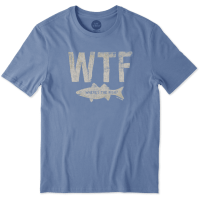Men's WTF Fish Smooth Tee