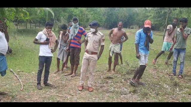 dead body of couple found out in suspicious situation in forest of shivakura in katoria police stati