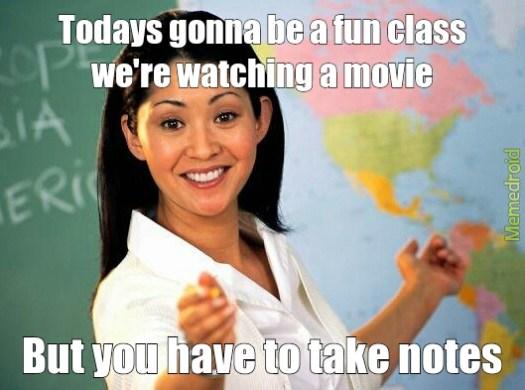 Image result for movie day meme