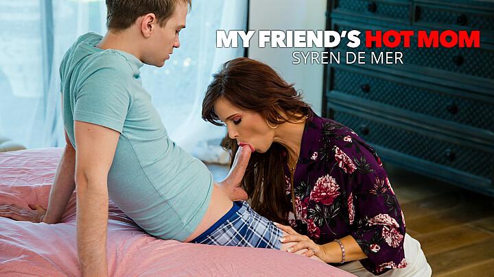 Hot MILF Syren De Mer loves younger cock