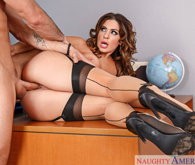 Nikki Capone Fucking In The Classroom With Her Tits Sex Position 3